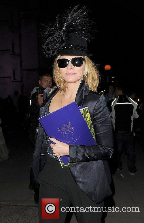 Kim Cattrall and London Fashion Week 1