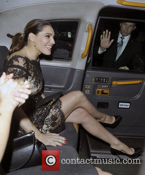 Kelly Brook and London Fashion Week 6