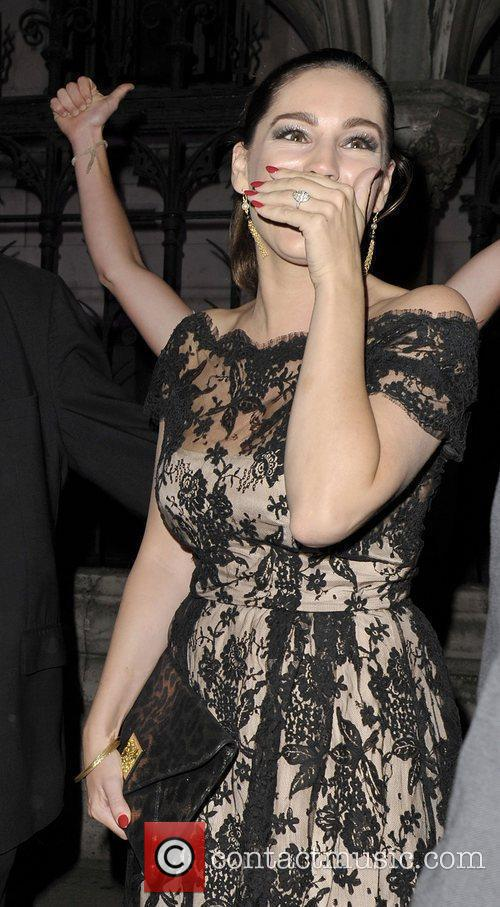 Kelly Brook and London Fashion Week 8