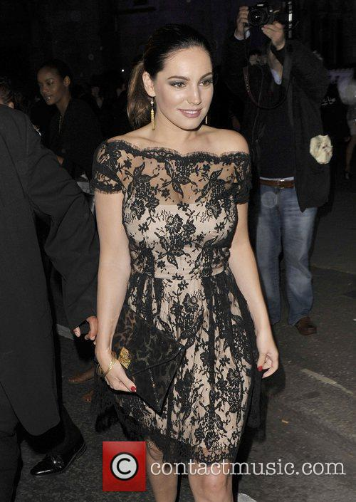 Kelly Brook and London Fashion Week 1