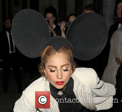 Lady Gaga, Mickey Mouse and London Fashion Week 3