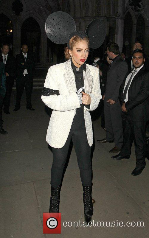 Lady Gaga, Mickey Mouse and London Fashion Week 4