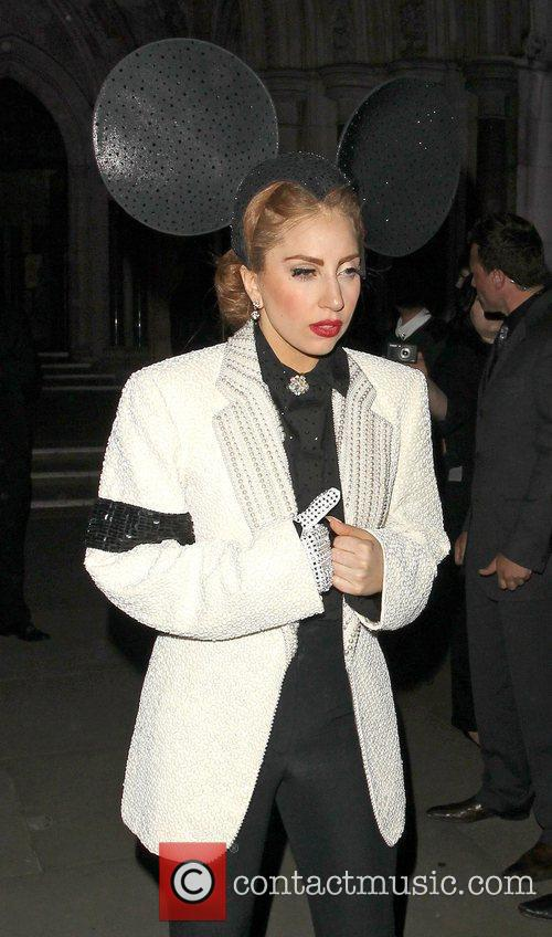Lady Gaga, Mickey Mouse and London Fashion Week 5