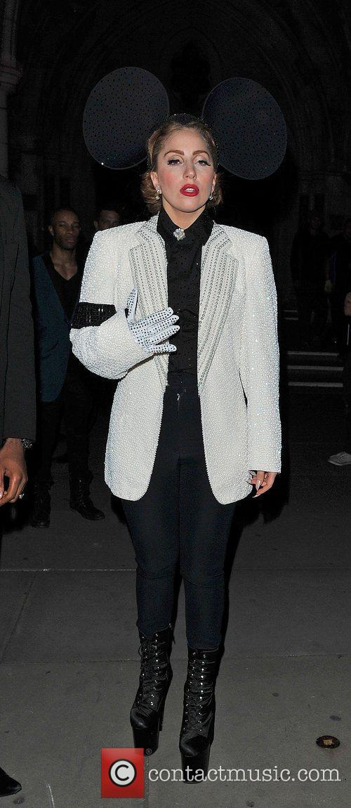 Lady Gaga, Mickey Mouse and London Fashion Week 6