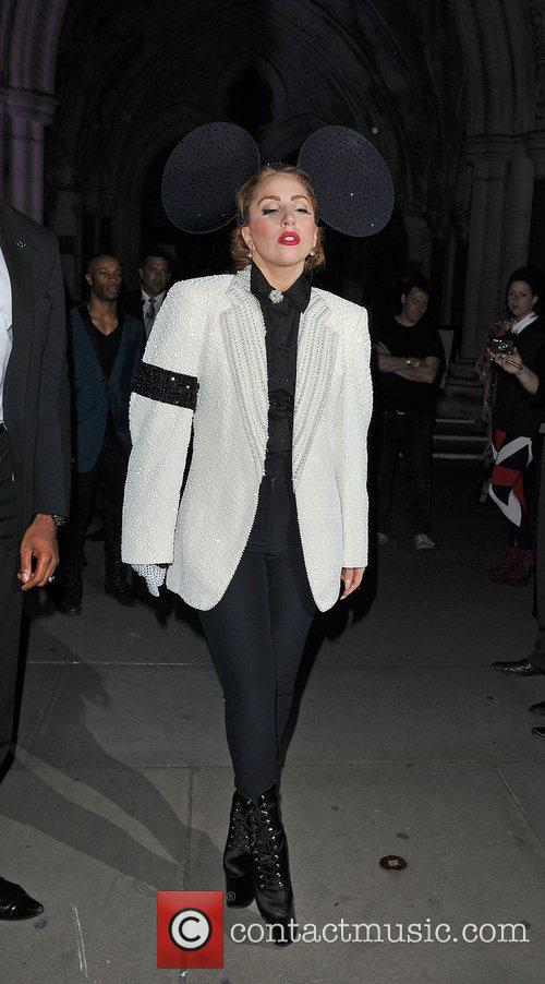 Lady Gaga, Mickey Mouse and London Fashion Week 7