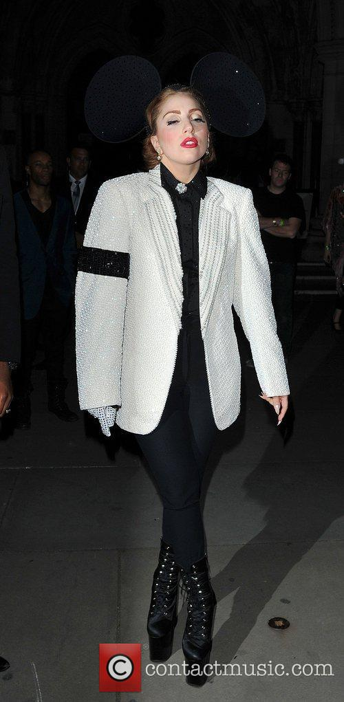 Lady Gaga, Mickey Mouse and London Fashion Week 9