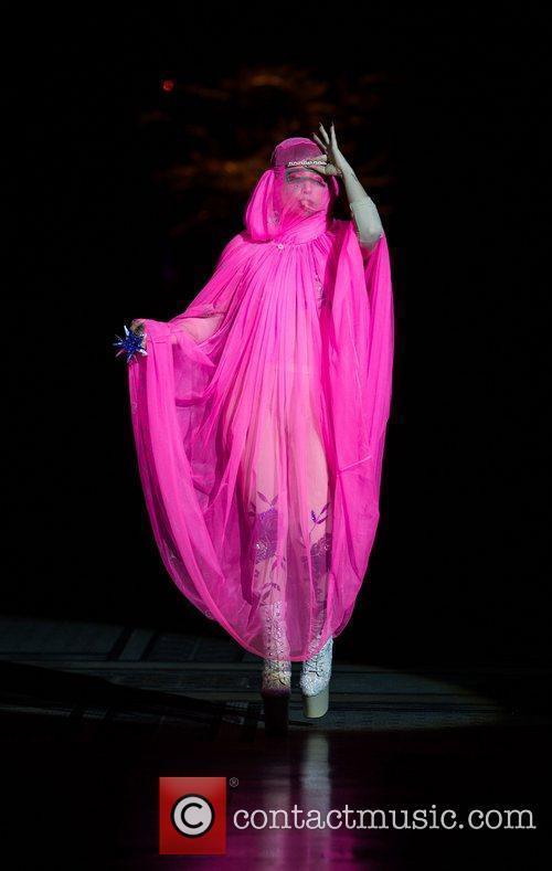 Lady Gaga and London Fashion Week 8
