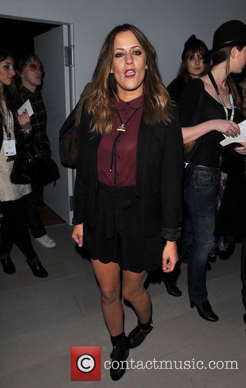 Caroline Flack and London Fashion Week 3