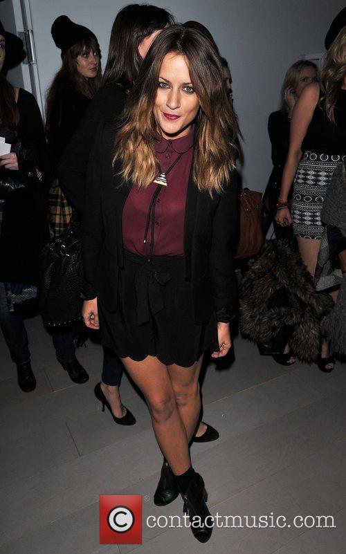Caroline Flack and London Fashion Week 4