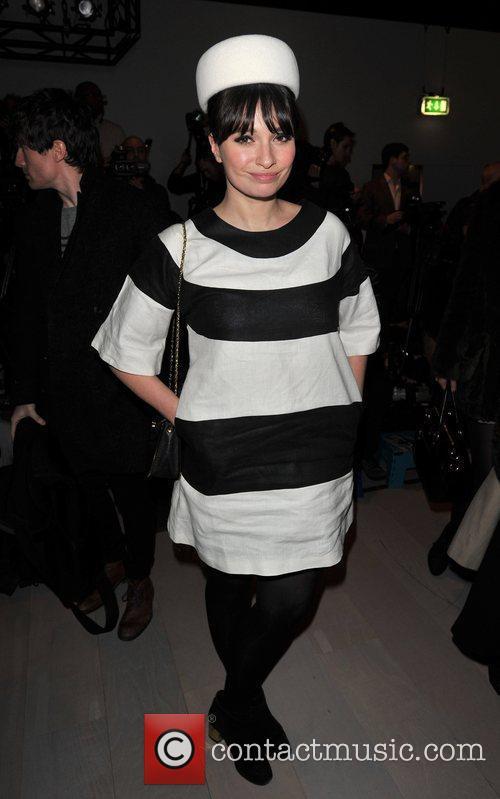 Gizzi Erskine and London Fashion Week 3
