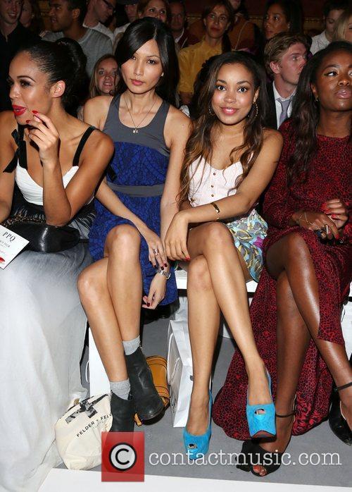 Gemma Chan, Dionne Bromfield and London Fashion Week 2