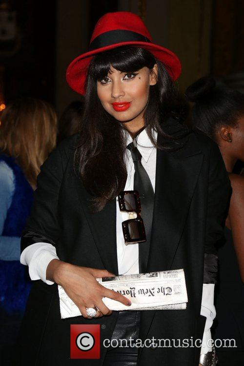 Jameela Jamil and London Fashion Week 3