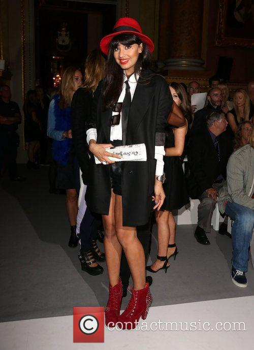 Jameela Jamil and London Fashion Week 6