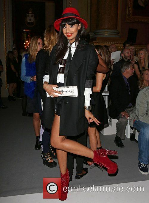 Jameela Jamil and London Fashion Week 7