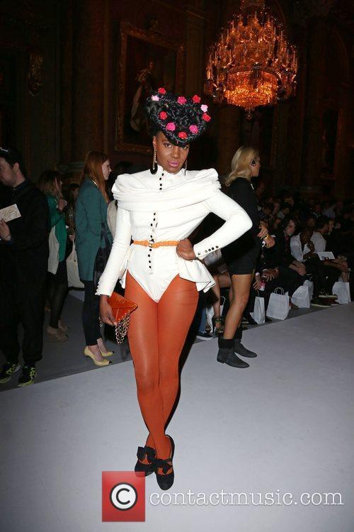 Shingai Shoniwa of the Noisettes London Fashion Week...