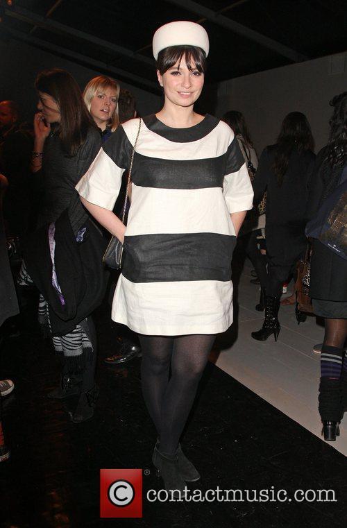 Gizzi Erskine and London Fashion Week 4