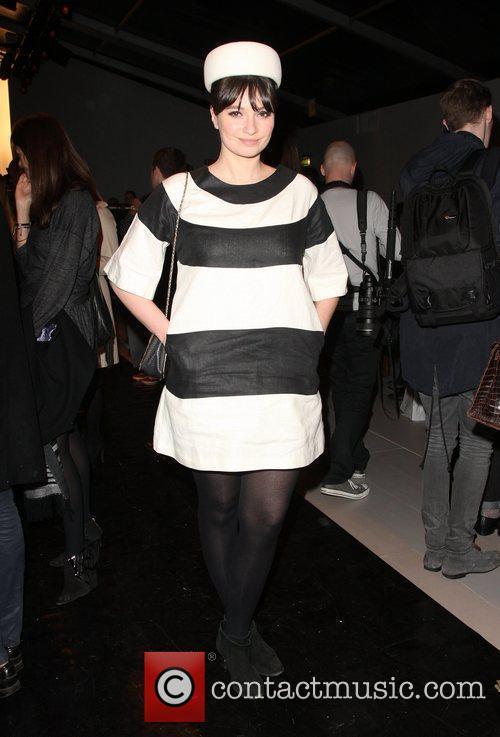 Gizzi Erskine and London Fashion Week 1