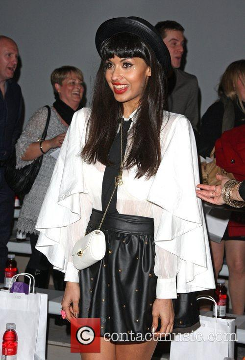 Jameela Jamil and London Fashion Week 5