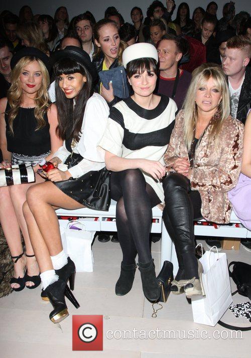 Laura Whitmore, Gizzi Erskine, Jameela Jamil, Jo Wood and London Fashion Week 2