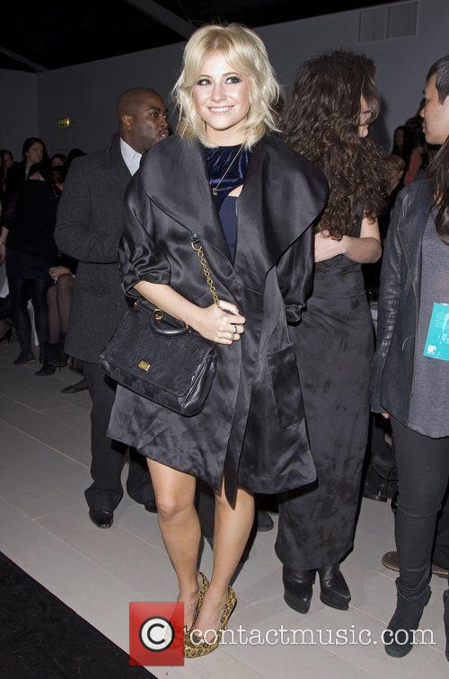 Pixie Lott and London Fashion Week 1