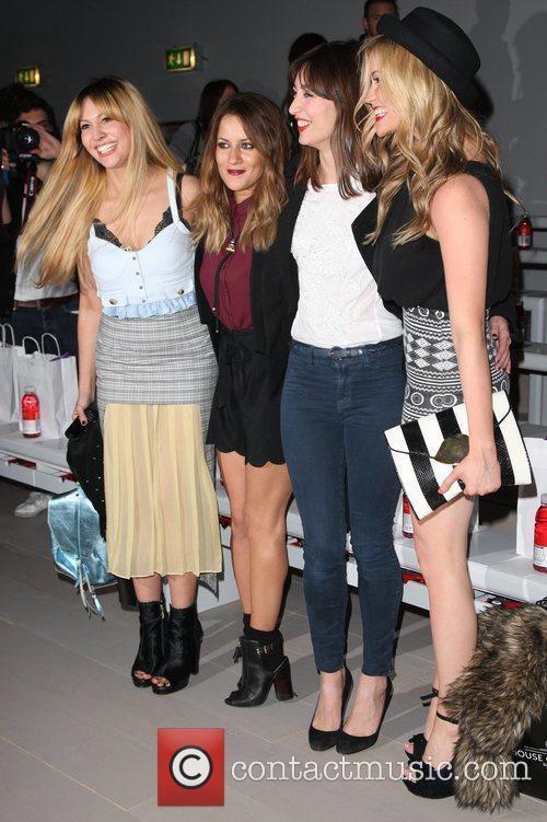 Caroline Flack, Laura Whitmore and London Fashion Week 6