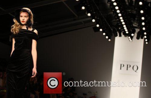 Model and London Fashion Week 7