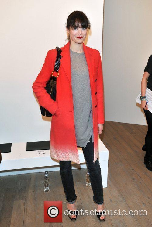 Jasmine Guinness London Fashion Week - Autumn/Winter 2012...