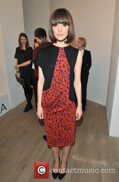 Rose Byrne London Fashion Week - Autumn/Winter 2012...
