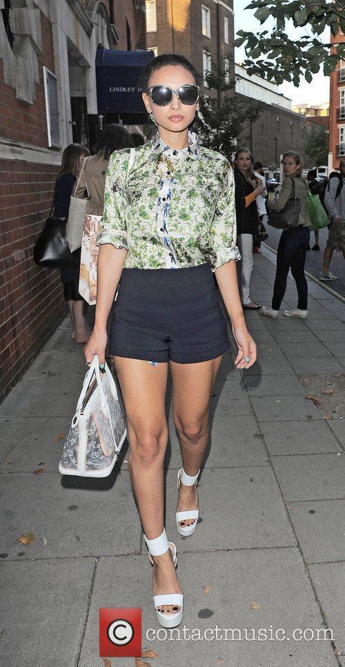 Leah Weller  London Fashion Week Spring/Summer 2013...