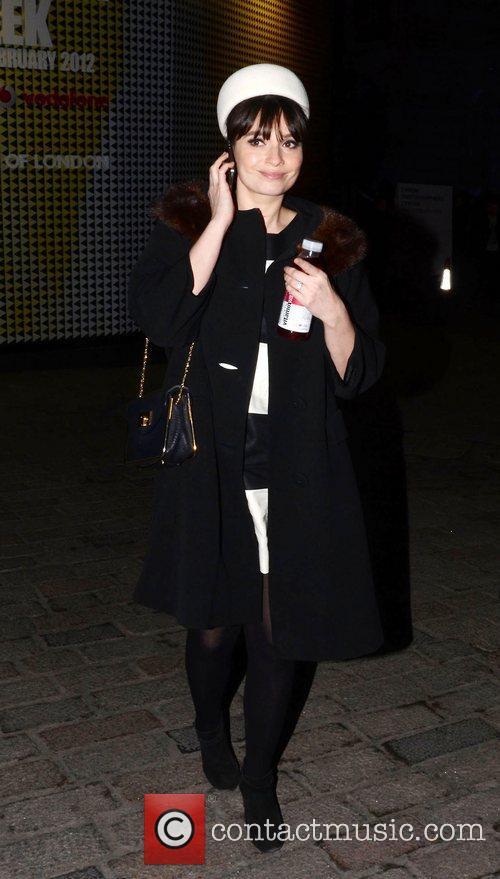 Gizzi Erskine and London Fashion Week 2