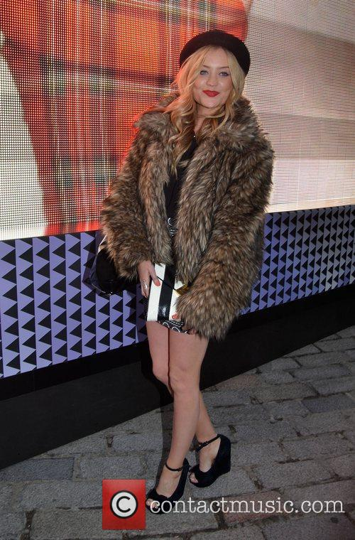 Laura Whitmore and London Fashion Week 2