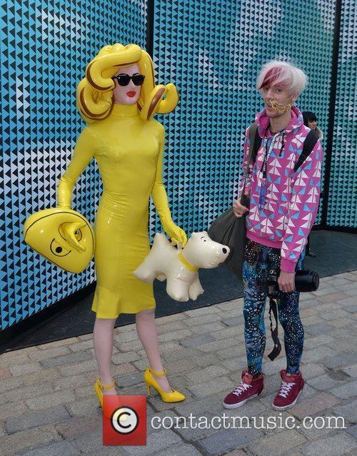 London Fashion Week - Autumn/Winter 2012 - Somerset...