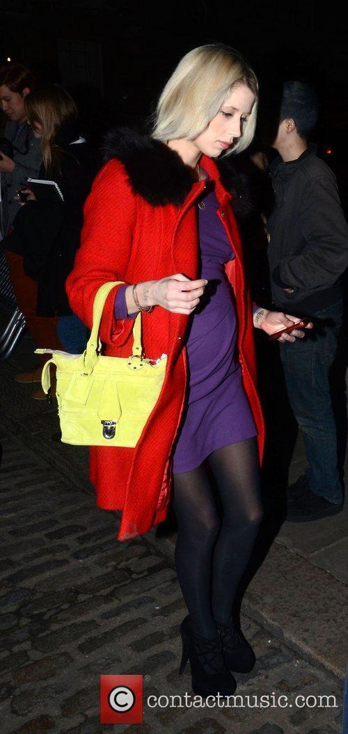 Peaches Geldof and London Fashion Week 2