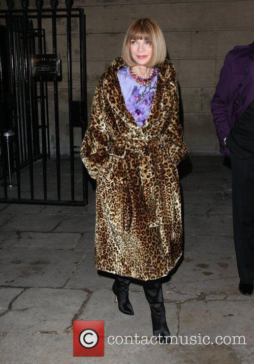 Anna Wintour and London Fashion Week 1