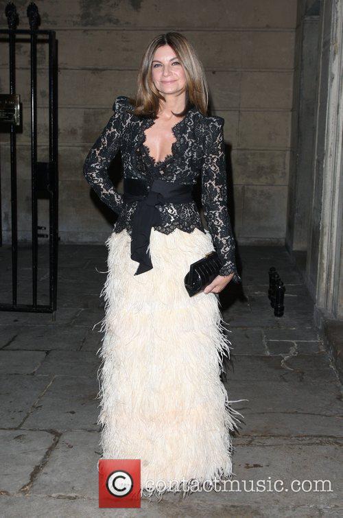 Natalie Massenet Stella McCartney Winter 2012 London Eveningwear...
