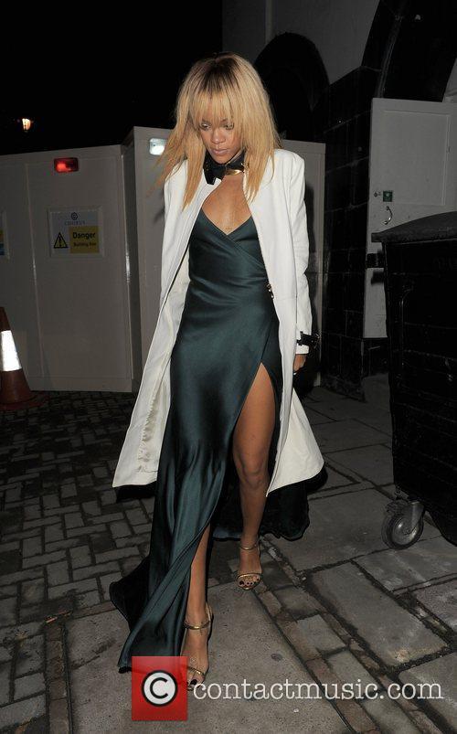 Rihanna London Fashion Week - Autumn/Winter 2012 -...