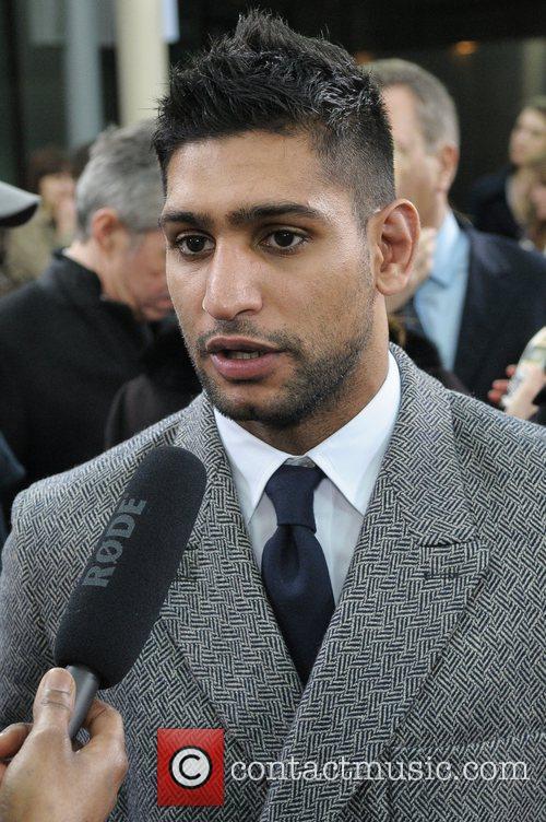 Amir Khan London Fashion Week Autumn/Winter 2012 -...