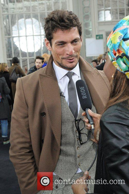 David Gandy and London Fashion Week 2