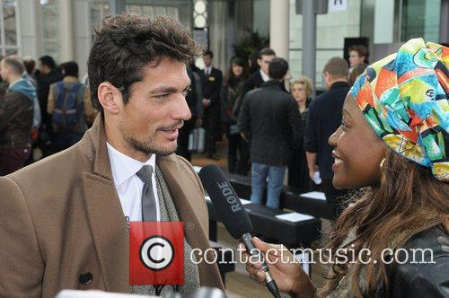 David Gandy and London Fashion Week 1