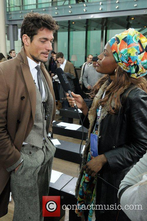 David Gandy and London Fashion Week 3