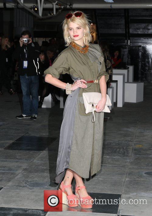 Pixie Geldof and London Fashion Week 2