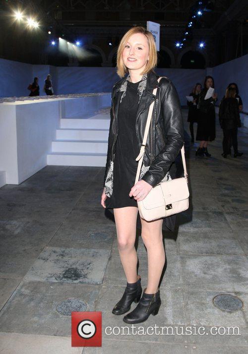 Laura Carmichael and London Fashion Week 1
