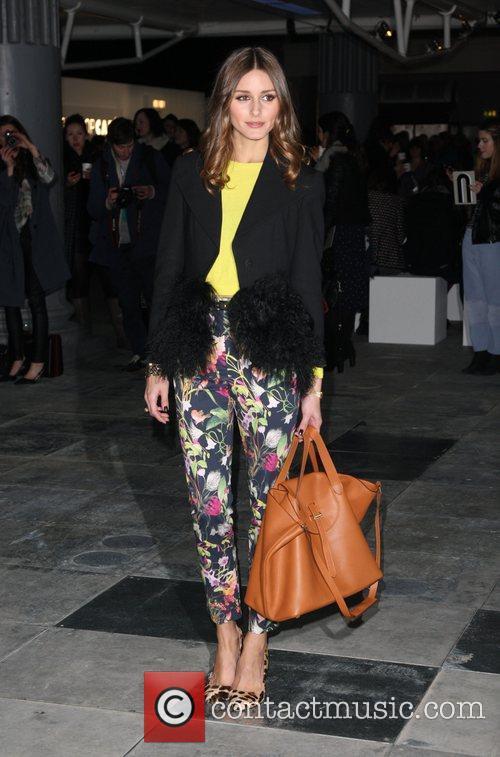 Olivia Palermo and London Fashion Week 3