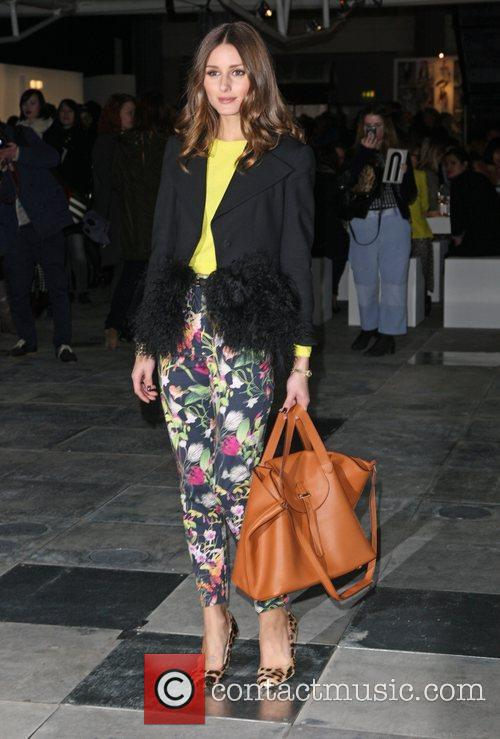 Olivia Palermo and London Fashion Week 7
