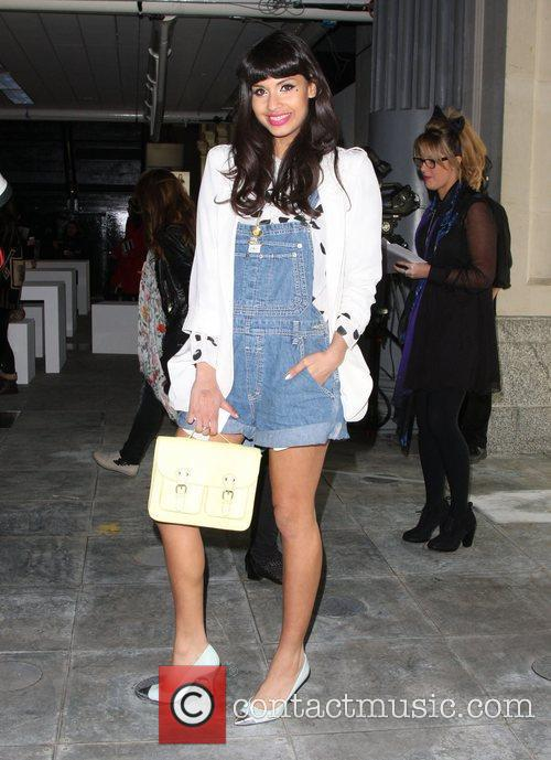 Jameela Jamil and London Fashion Week 1