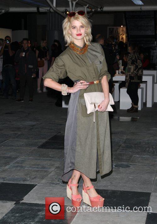 Pixie Geldof and London Fashion Week 11