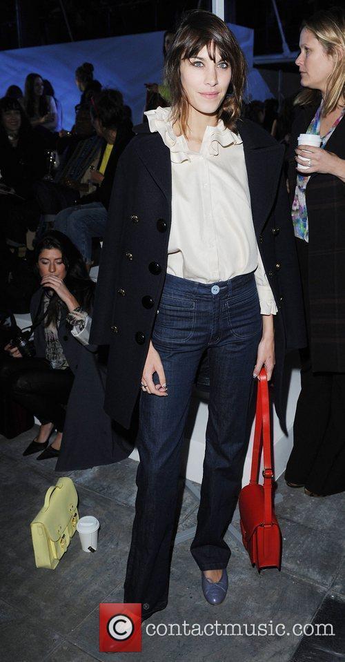 Alexa Chung and London Fashion Week 8