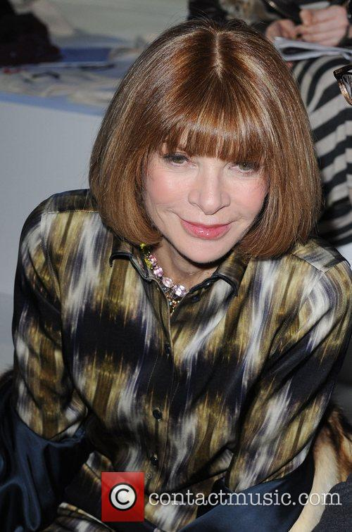 Anna Wintour and London Fashion Week 4