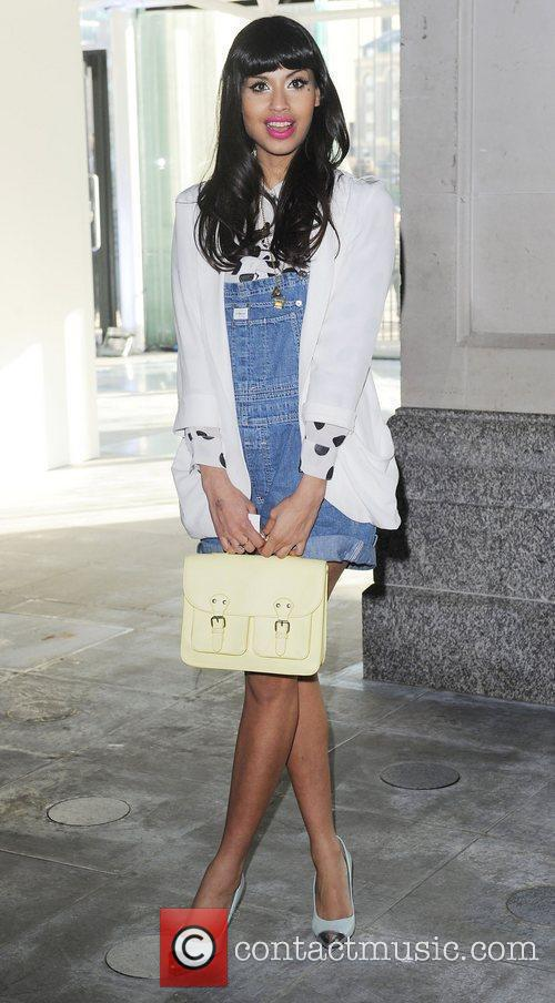 Jameela Jamil and London Fashion Week 1
