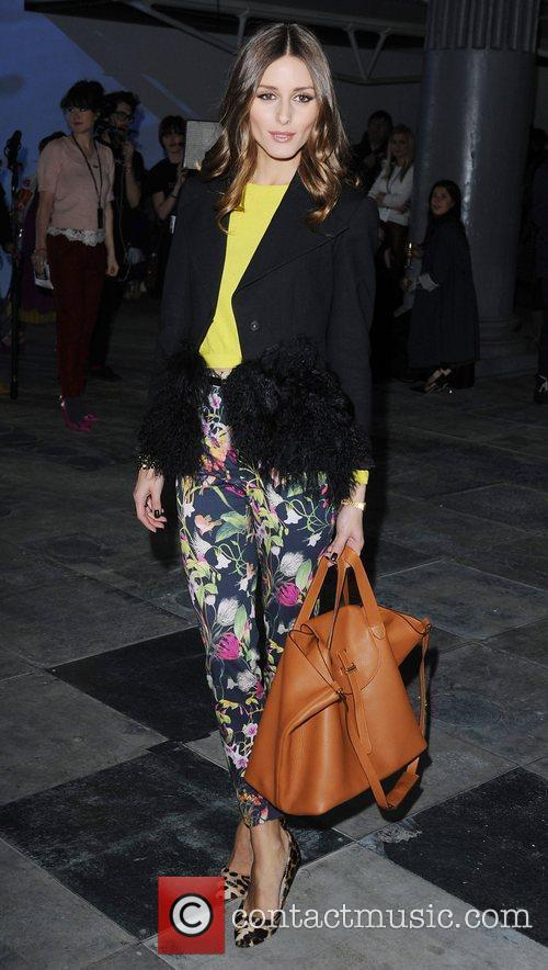 Olivia Palermo and London Fashion Week 9